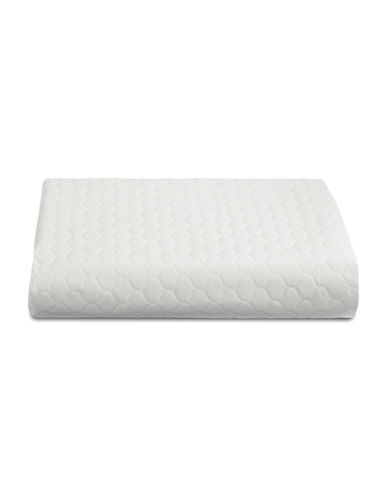 Hotel By Domay Quilted Table Pad - 52in x 90in-WHITE-52x90
