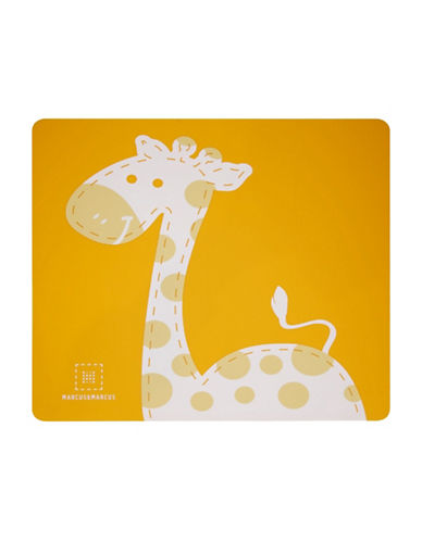 Marcus & Marcus Lola the Giraffe Silicone Placemat-YELLOW-One Size