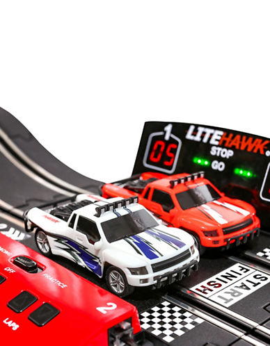 Litehawk Baja Circuit Slot Car Set-MULTI-One Size