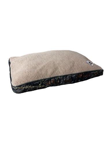 Mossy Oak Rectangular Pet Bed-GREEN-One Size