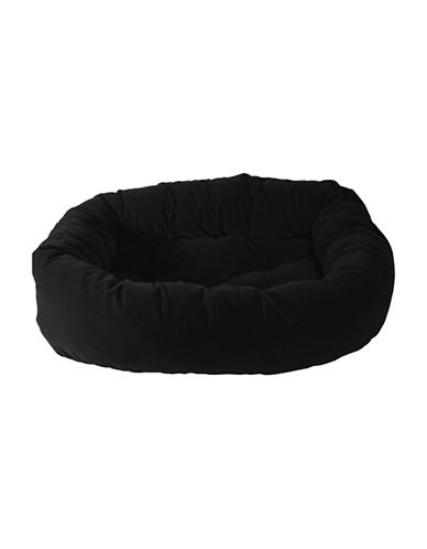 Danazoo Large Donut Pet Bed-BLACK-One Size