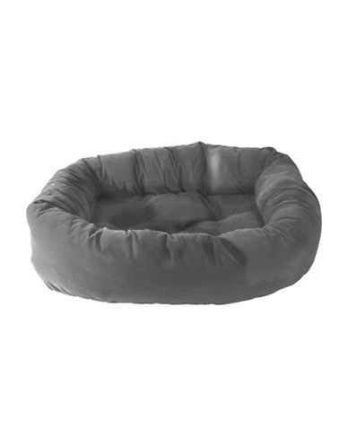 Danazoo Large Donut Pet Bed-GREY-One Size
