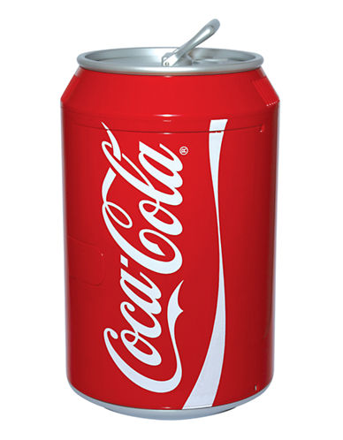 Coca-Cola Can Cooler - 12 Can Capacity-RED-One Size