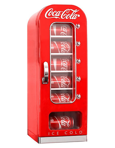 Coca-Cola 10 can Vending Fridge-RED-One Size