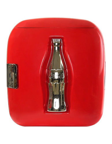 Koolatron Coca-Cola Cube Cooler-RED-One Size