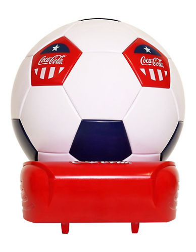 Coca-Cola Soccer Ball Cooler-RED-One Size
