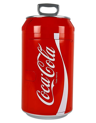 Koolatron Mini Coca-Cola Can Cooler-RED-One Size