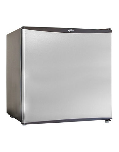 Koolatron Compact Refrigerator 1.6cuft Stainless Steel Look-STAINLESS STEEL-One Size