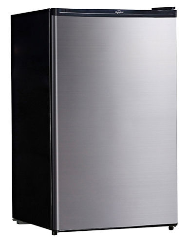 Koolatron 4.6 Cu.Ft. Compact Refrigerator-STAINLESS STEEL-One Size