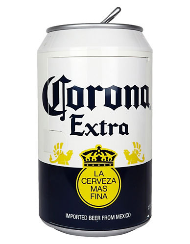Koolatron Corona Can Cooler-WHITE-One Size