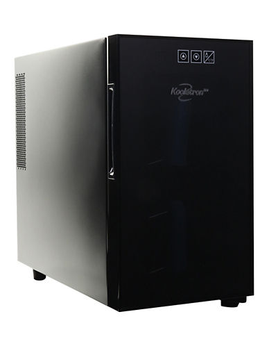 Koolatron 8-Bottle Countertop Wine Cellar-BLACK-One Size