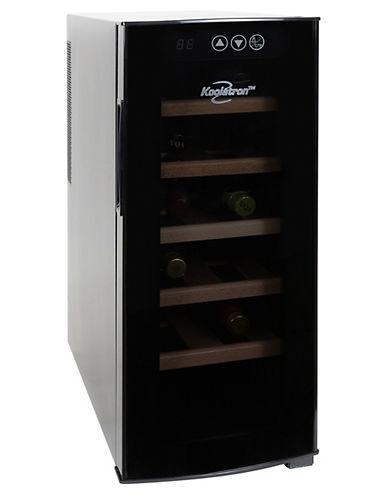 Koolatron 12 Bottle Deluxe Wine Cooler-BLACK-One Size