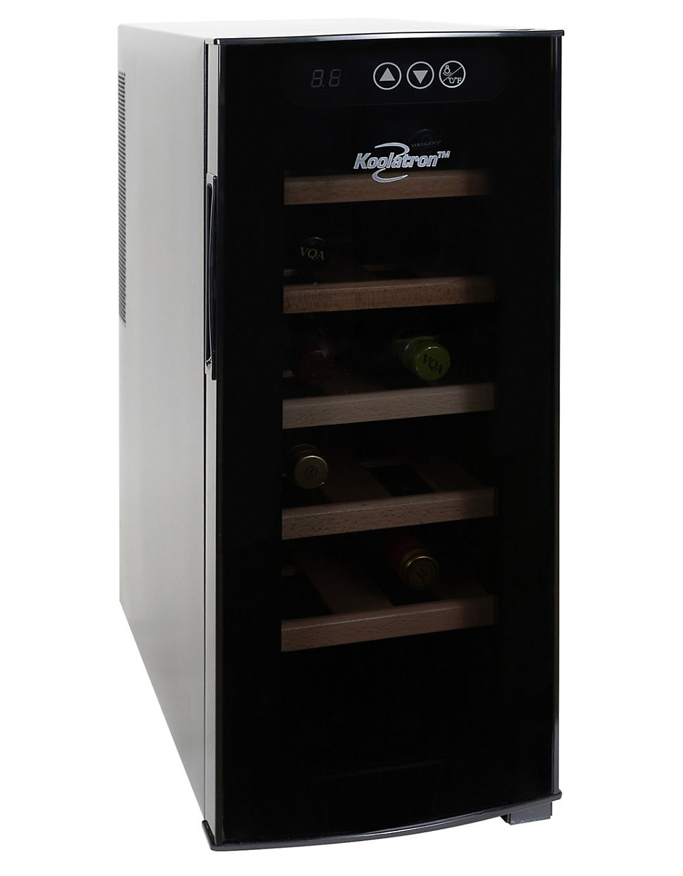 glass costco wine cooler cellar of a full door size building countertop