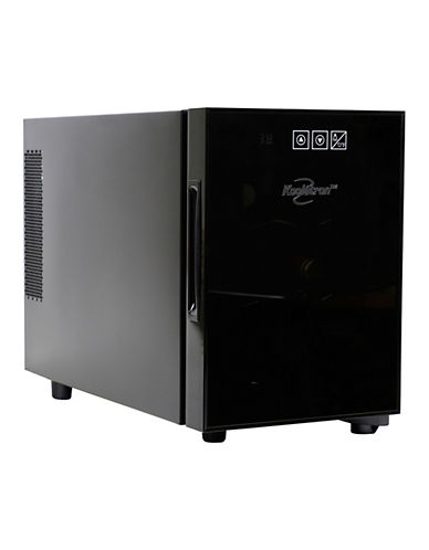 Koolatron 6 Bottle Counter Top Wine Cooler-BLACK-One Size