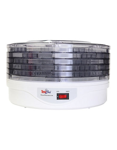 Total Chef 5 Tray Dehydrator-WHITE-One Size