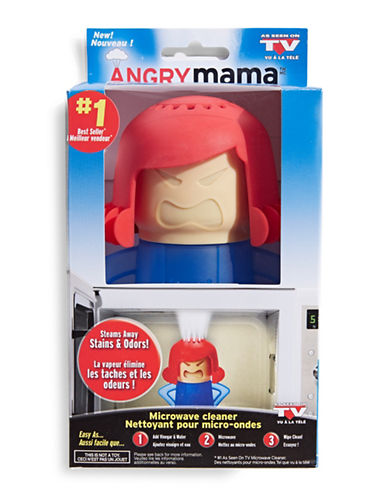 As Seen On Tv Angry Mama Microwave Cleaner-BLUE-One Size