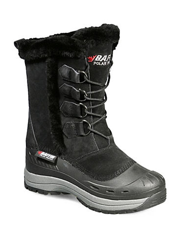 Baffin Drift Chloe Suede Winter Boots-BLACK-9
