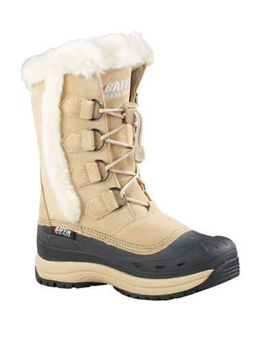 Baffin Drift Chloe Suede Winter Boots-SAND-9
