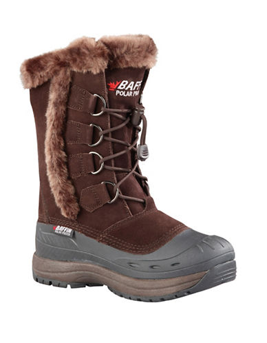 Baffin Drift Chloe Suede Winter Boots-BROWN-8