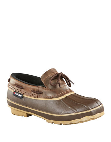 Baffin Coyote Waterproof Slip-On Shoes-BROWN-10