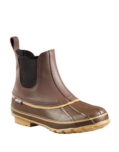 Baffin Bobcat Slip-On Waterproof Boots-BROWN-11