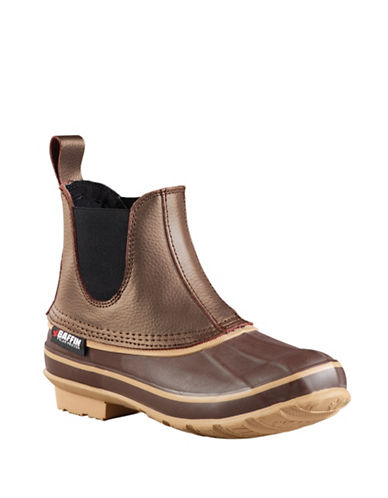 Baffin Bobcat All-Weather Ducky Leather Boots-BROWN-11