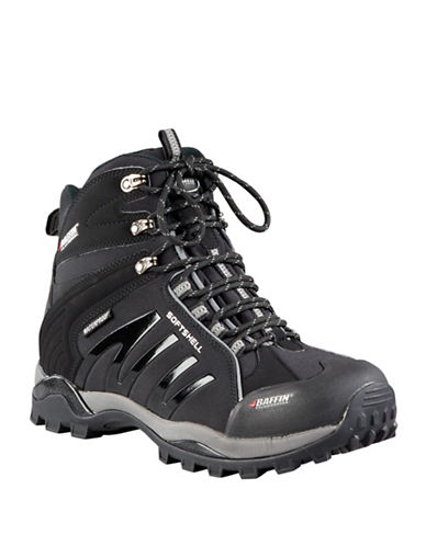 Baffin Zone Waterproof Lace-Up Boots-BLACK-10