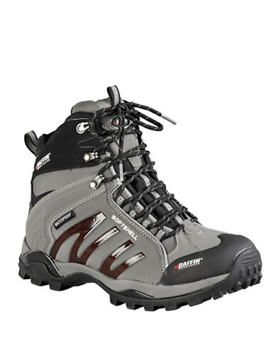Baffin Zone Waterproof Lace-Up Boots-GREY-10