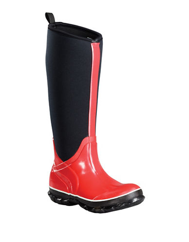 Baffin Marsh Tall Rain Boots-RED-9