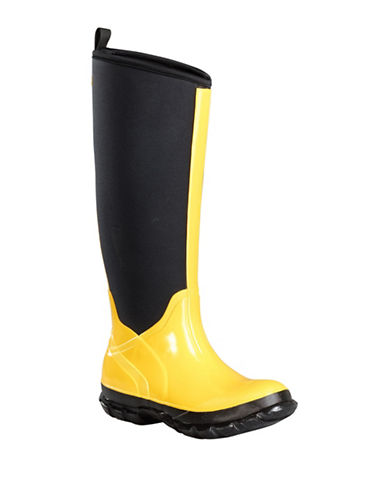Baffin Marsh Tall Rain Boots-YELLOW-7