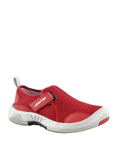 Baffin Trail to Rapids Leather Water Shoes-RED-11