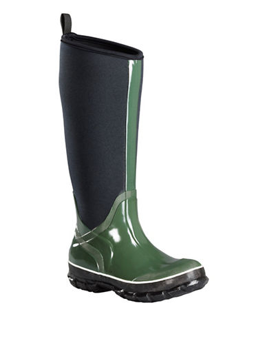 Baffin Marsh Tall Rain Boots-GREEN-9