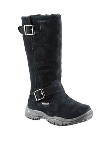 Baffin Miku Charlee Suede Boots-BLACK-6