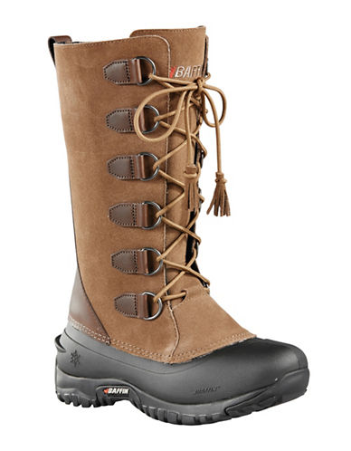 Baffin Ultralite Coco Leather Boots-TAUPE-10