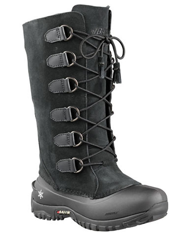Baffin Ultralite Coco Leather Boots-BLACK-11
