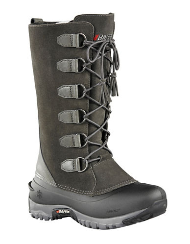 Baffin Ultralite Coco Leather Boots-CHARCOAL-9