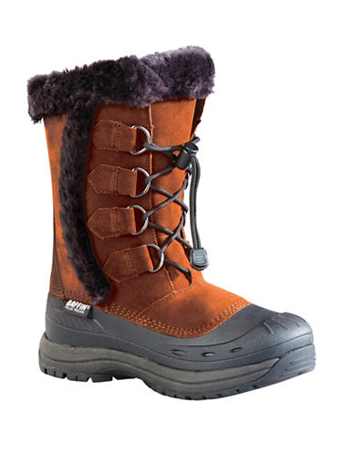 Baffin Drift Chloe Suede Winter Boots-AUBURN-8