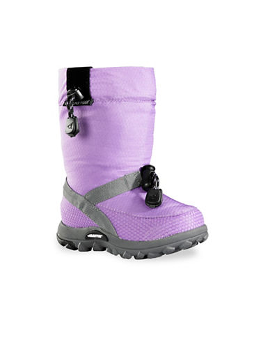 Baffin Honeycomb Waterproof Winter Boots-PURPLE-2