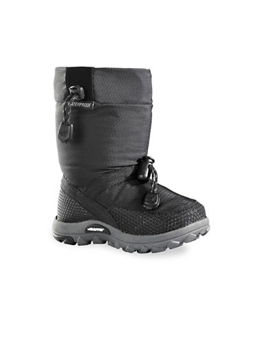 Baffin Honeycomb Waterproof Winter Boots-BLACK-9
