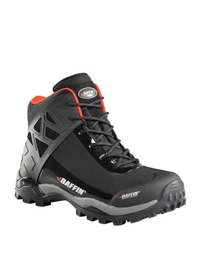Baffin Blizzard Waterproof Lace-Up Boots-BLACK-9