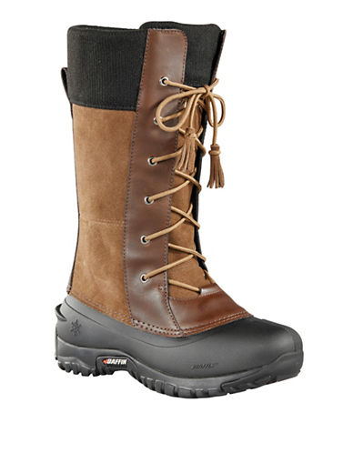 Baffin Dana Suede Waterproof Boots-BROWN-10