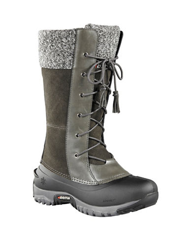 Baffin Dana Suede Waterproof Boots-CHARCOAL-10