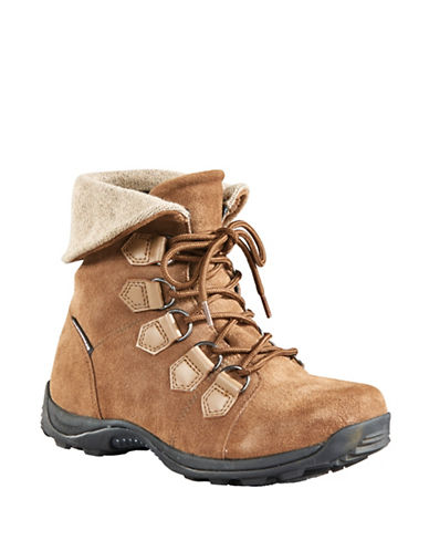 Baffin Urban Verbier Suede and Leather Boots-TAUPE-10