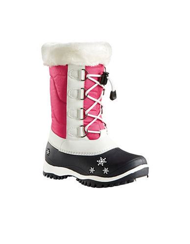Baffin Ava Waterproof Winter Boots-PINK-5