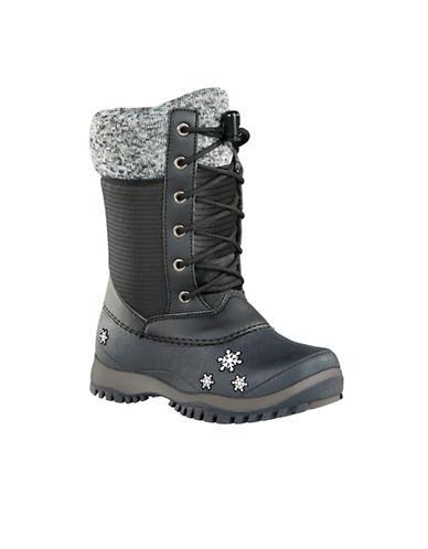 Baffin Avery Waterproof Winter Boots-BLACK-6