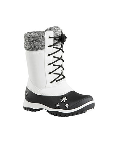 Baffin Avery Waterproof Winter Boots-WHITE-1