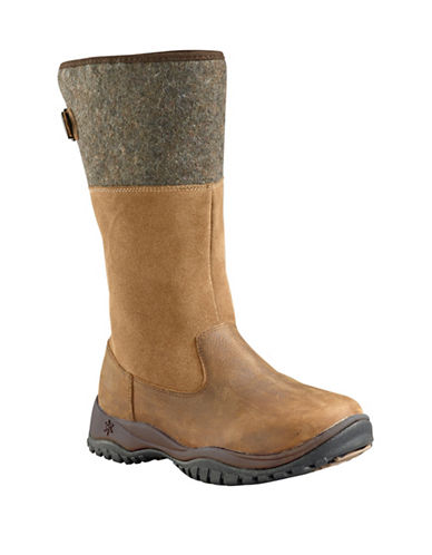 Baffin Engelberg Suede Winter Boots-TAUPE-11