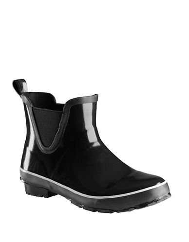 Baffin Pond Slip-On Rainboots-BLACK-8