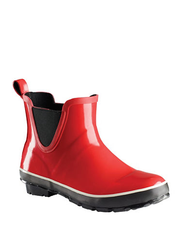 Baffin Pond Slip-On Rainboots-RED-10