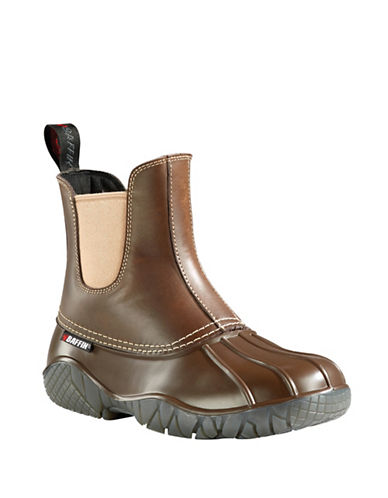 Baffin Huron Leather Ducky Boots-BROWN-9